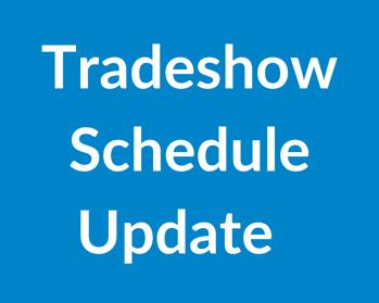 Tradeshow Schedule (1)